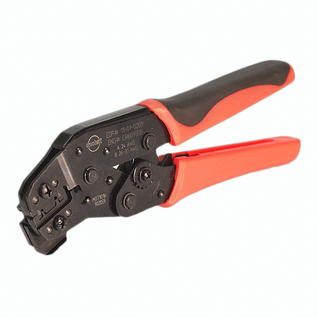 11 01 0209 datasheet specifications tool type hand crimper for use with related. Black Bedroom Furniture Sets. Home Design Ideas